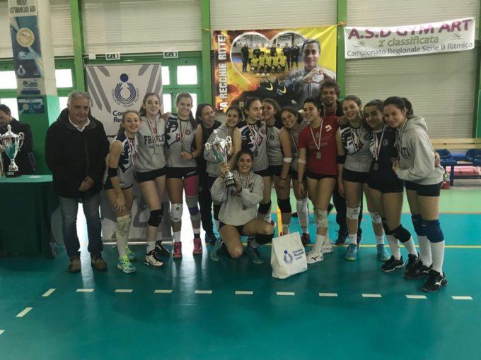 "Volley Club Frascati, l'Under 16 è vice campione regionale. Liberatoscioli: ""Ora le finali nazionali"""