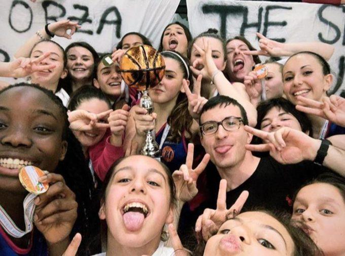 Club Basket Frascati, Under 16 femminile strepitosa: vinto il titolo regionale senza mai perdere!