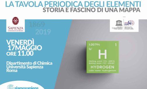"""L'UNESCO: """"il 2019 è l'Anno internazionale della Tavola Periodica"""""""