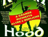 """MARIONETTE SENZA FILI,  RIPROPONE """"ROBIN HOOD – IL MUSICAL"""" AL TEATRO AUDITORIUM GIULANCO"""