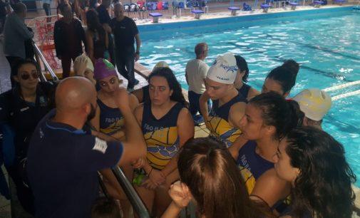La Serie B femminile della Waterpolis perde in casa contro Latina (4-8)