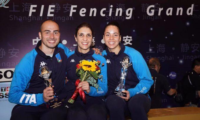 Frascati Scherma, Volpi ed Errigo sul podio in Cdm. Sei medaglie ai campionati italiani Gpg