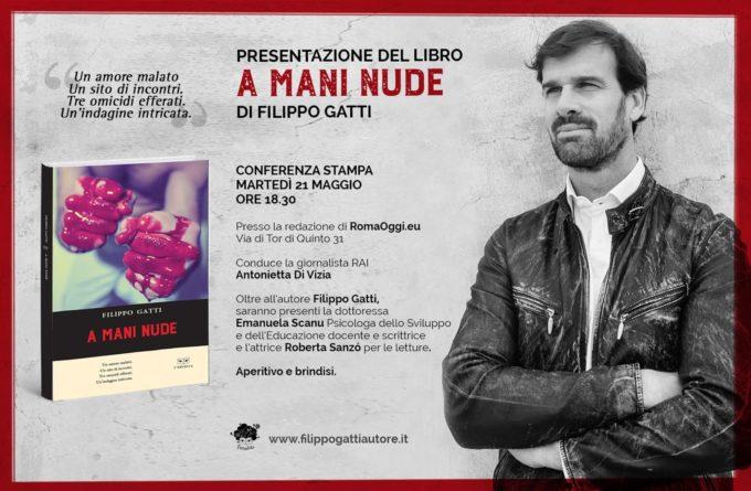 """""""A mani nude"""" esordio di Filippo Gatti"""