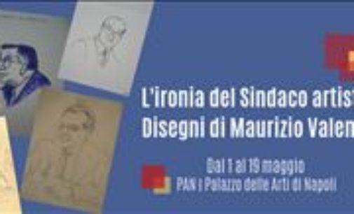 """""""L'ironia del Sindaco artista. Disegni di Maurizio Valenzi"""". Dal 1 al 19 Maggio"""