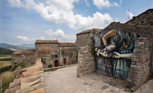 CVTA' STREET FEST 2019: dal 13 al 16 giugno la quarta edizione del festival molisano che rivaluta il borgo con la street art internazionale (dir art Alice Pasquini)