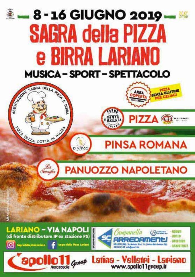 Lariano – In arrivo la Sagra della Pizza e Birra