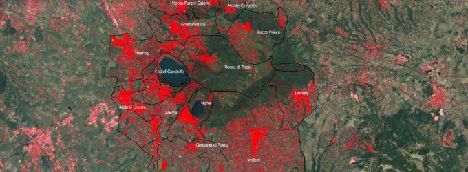 Il consumo di suolo ai Castelli, in Italia e in Europa – uno studio dell'ISPRA