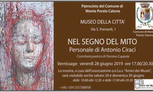 """""""NEL SEGNO DEL MITO""""  – Personale di Antonio Ciraci –"""
