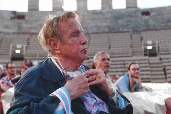 MAURIZIO MILLENOTTI a Velletri per ricevere il SamPietrino D'ORO Marguttiano 2019