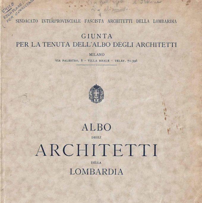 Architetti e memoria:  l'Ordine ricorda le leggi razziali