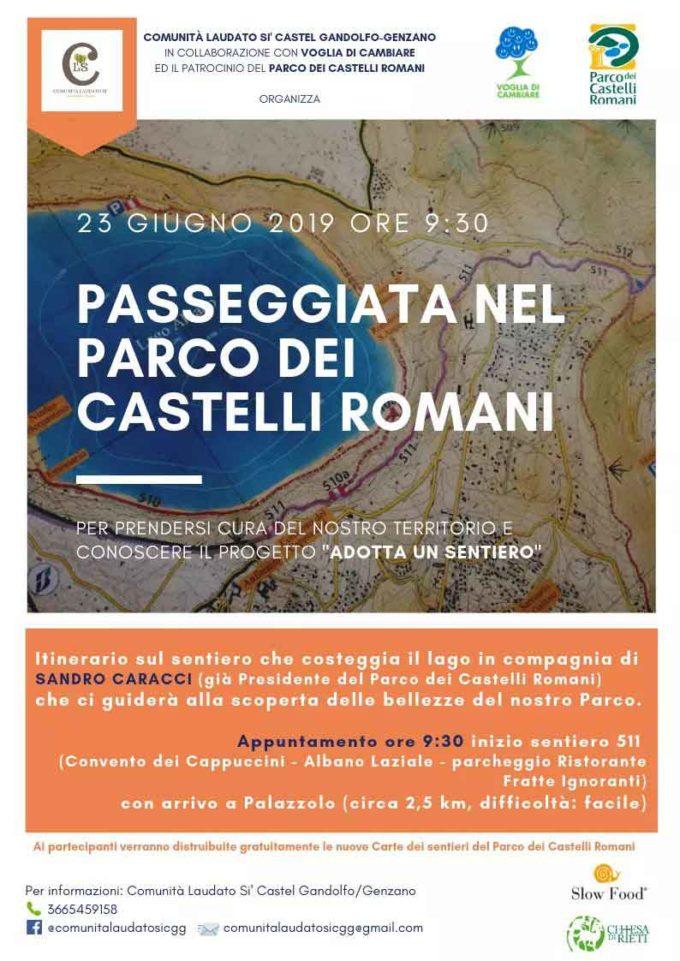 Passeggiata nel Parco dei Castelli Romani