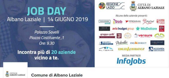 Albano Laziale, venerdì 14 giugno a Palazzo Savelli il 5° Job Day