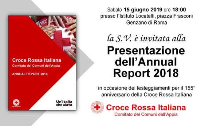 Genzano – Invito alla presentazione dell'Annual Report