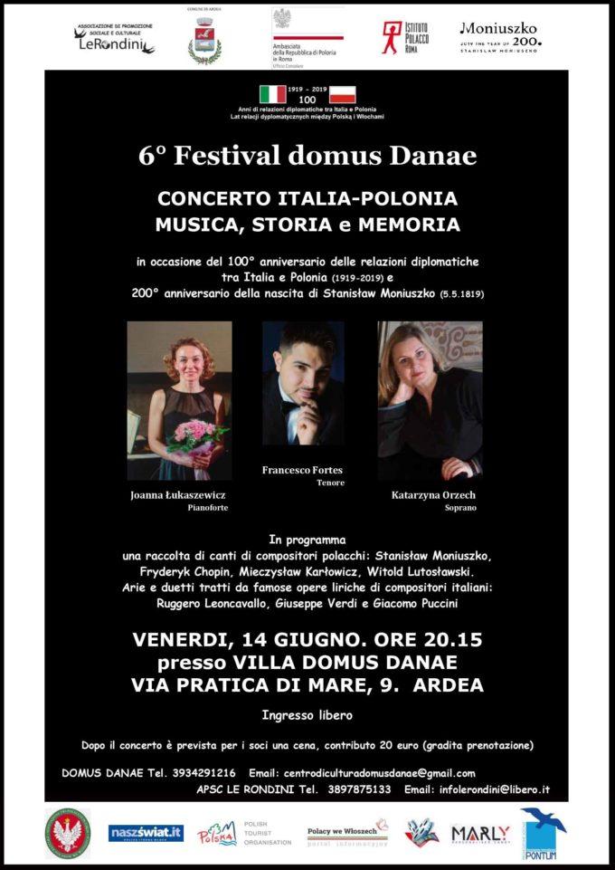 "6° Festival ""domus Danae"""