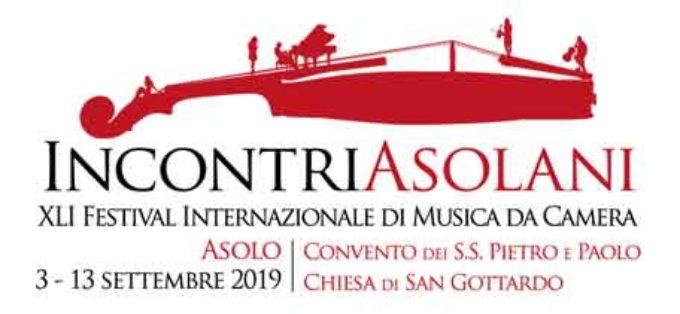 INCONTRI ASOLANI  41° Festival Internazionale di Musica da Camera