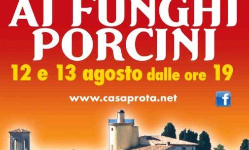 A Casaprota (RI) l'estate si festeggia con le fettuccine ai funghi porcini – 12/13 ago
