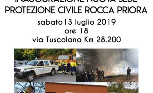 Rocca Priora – Nuova sede per la Protezione Civile