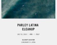 """""""PARLEY FOR OCEANS"""" FA TAPPA A LATINA NEL TOUR NAZIONALE PER LA PULIZIA COLLETTIVA DELLE SPIAGGE"""