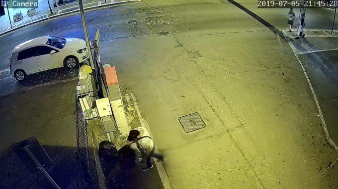 Albano Laziale, le telecamere riprendono un incivile del rifiuto a Pavona