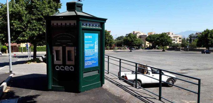 Cocciano, attivata oggi la nuova fontana di acqua leggera