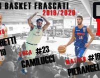 Club Basket Frascati, il presidente Monetti cala un tris di colpi per la serie C Gold maschile