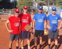 """Tc New Country Frascati (tennis), che festa per la """"24 Ore"""": vittoria alla squadra Azzurra"""