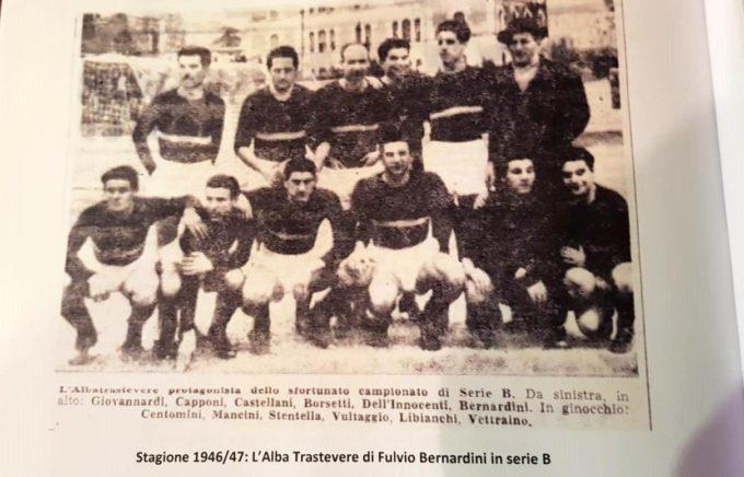 Amichevole tra l'As Roma e il Trastevere Calcio