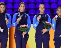 Frascati Scherma: fiorettiste d'argento ai mondiali, la Errigo aggiunge anche un bronzo individuale