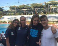 Tc New Country Frascati protagonista ai campionati regionali di nuoto e con Bellifemine nel tennis