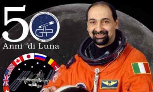 """Sbarca a Nemi Venerdi 23 Agosto l'astronauta Umberto Guidoni con """" La Luna Vista Dallo Spazio"""