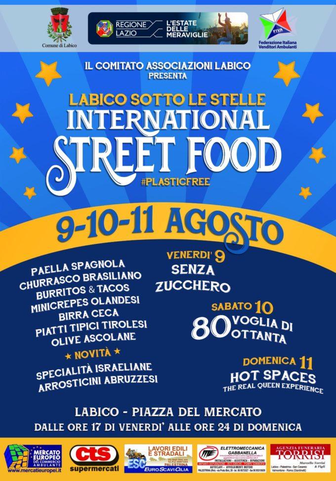 Labico sotto le stelle International Street Food: un viaggio tra i sapori del mondo
