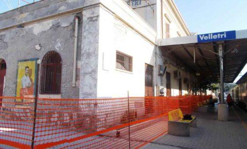 Stazione di Velletri – Rifacimento della facciata, sperando che tornino pure a fiorire le aiuole