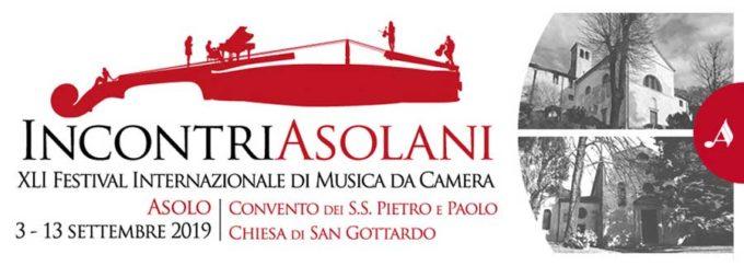Incontri asolani. 41° Festival Internazionale di Musica da Camera