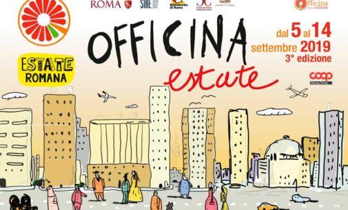 Spinaceto. Officina estate 2019