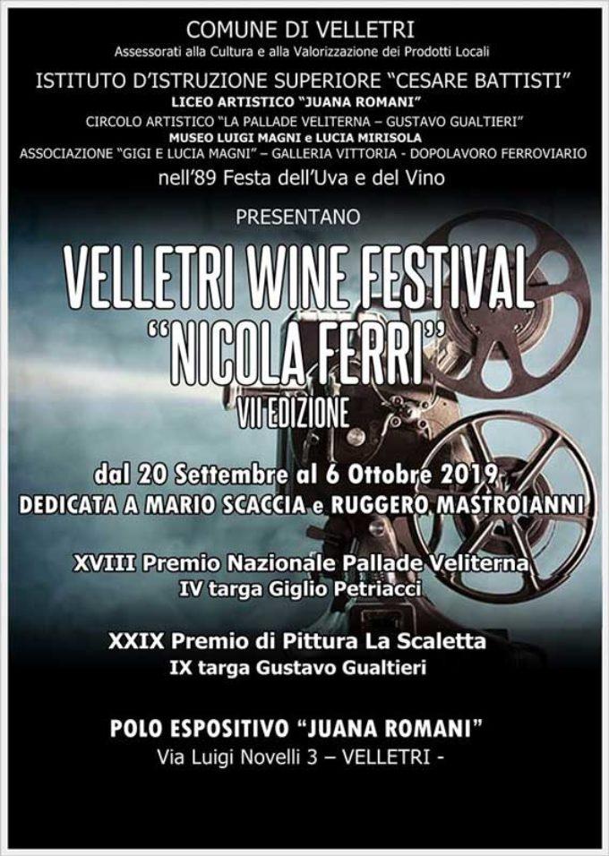 """VELLETRI WINE FESTIVAL """"NICOLA FERRI"""""""