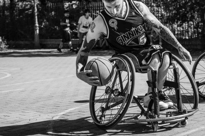 Basket in Carrozzina: a Roma Sport e Solidarietà con Alessandro Borghi e Alessio Sakara per Ginnika 2019