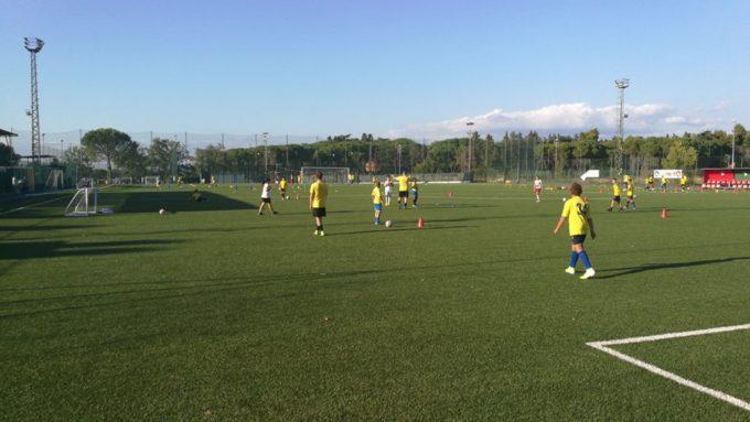 """Ssd Roma VIII, che festa per l'open day della Scuola calcio. Bartoli: """"E' un ottimo primo passo…"""""""