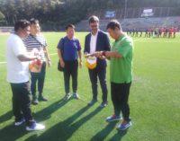 Football Club Frascati, un tocco di internazionalità: venerdì scorso la sfida ai cinesi del Gao Xin