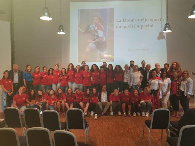 """Fondazione Rugby Frascati, un successo il convegno """"La donna nello sport: da novità a parità"""""""