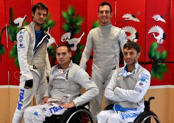 Frascati Scherma, Paolucci vice campione del mondo a squadre nel fioretto paralimpico
