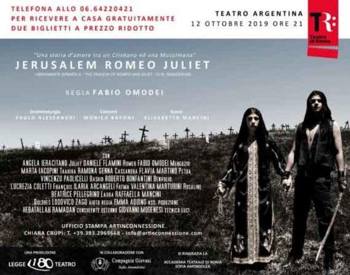 Teatro Argentina di Roma – JERUSALEM ROMEO JULIET