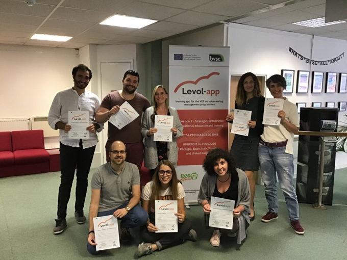 Levol-App: piattaforma europea digitale per la gestione dei volontari