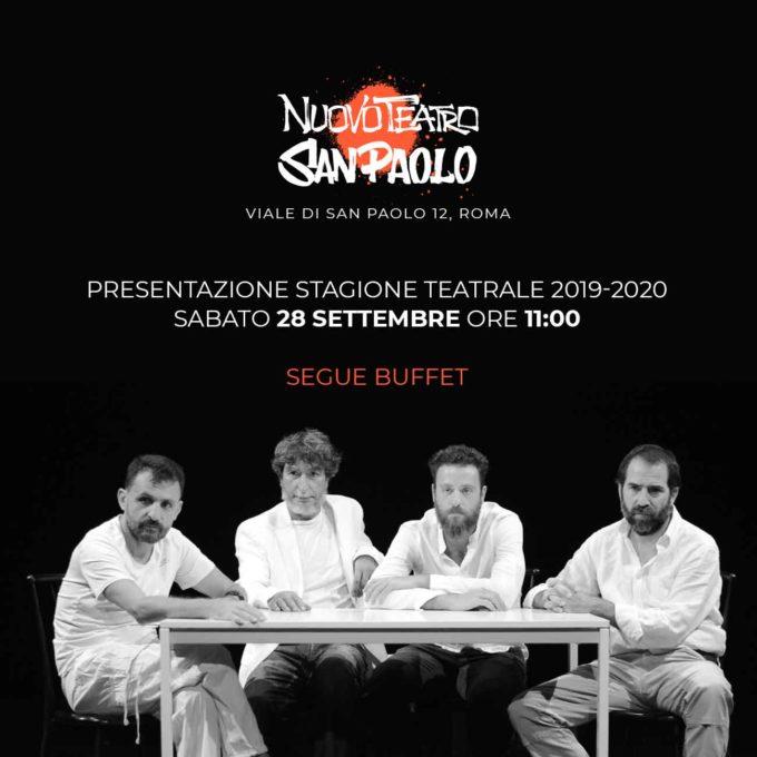 Nuovo Teatro San Paolo: pronto il cartellone teatrale 2019/2020