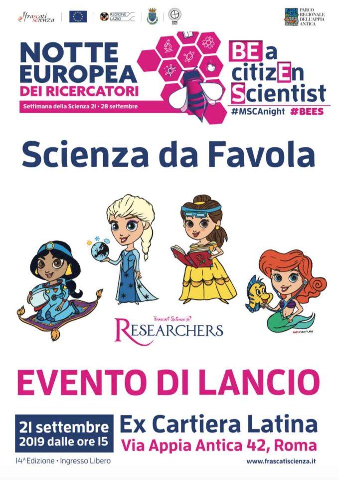 Le Principesse Ricercatrici lanciano la Settimana della Scienza
