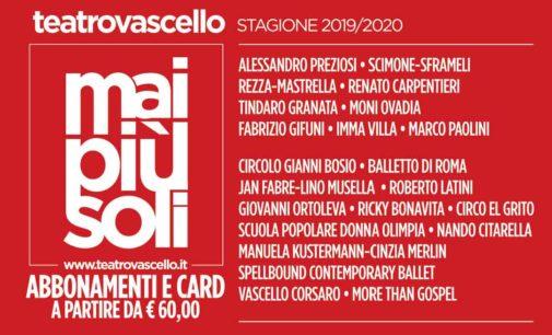 Teatro Vascello – STAGIONE 2019 2020