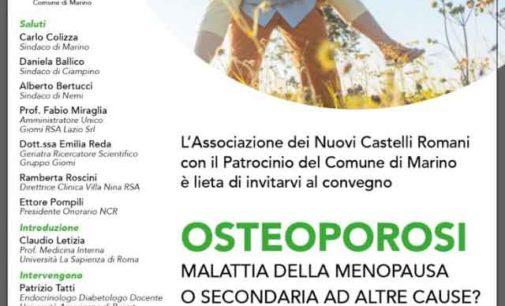 «Osteoporosi: malattia della menopausa o secondaria ad altre cause?»
