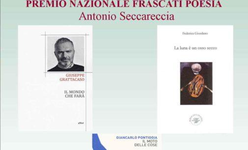 I Poeti Finalisti della 59ma edizione del Premio Nazionale Frascati Poesia   Antonio Seccareccia