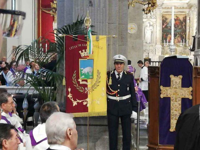 Albano Laziale, Amministrazione presente ai funerali del Vescovo Emerito Dante Bernini