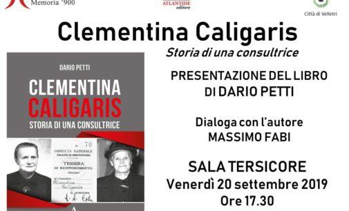 Memoria '900 presenta 'Clementina Caligaris. Storia di una consultrice