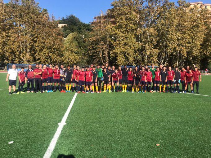 """Football Club Frascati (Under 19 prov.), Di Marco: """"Bella festa con la Roma e poi buona la prima"""""""